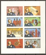 Equatorial Guinea   1978   Rowland Hill  Souvenir Sheet  Mint - Rowland Hill