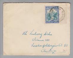 Jamayca 1936-03-07 Brief Mit 2 1/2 D. Nach Wien Oesterreich - Jamaïque (...-1961)