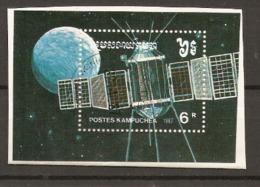 Kampuchea  1988  SG  906  Space Exploration  Miniature Sheet  Fine Used - Kampuchea