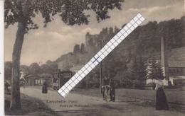LAROCHETTE ROUTE DE MEDERNACH AVEC TRAM A VAPEUR-EDIT.BELLWALD,ECHTERNACH N°866 - Larochette