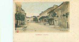Cpa -    Lalbenque -  Grand ' Rue   D808 - France