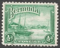 Bermuda. 1936-47 KGV. ½d Used. SG 98 - Bermuda