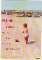 Humour / Enfant / PLEINE LUNE SUR LE COTE D'OPALE - 1976 - Cartes Humoristiques