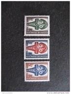 Polynésie:  TB Série Timbres - Taxe  N° 1 Au  N° 3, Neufs XX. - Timbres-taxe