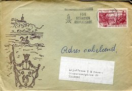 41110 Luxembourg, Cover  Circuled 1977  As Sca - Lettres & Documents