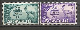Somalia AFIS - Serie Completa Nuova Espressi MNH: Serie Pittorica - 1950 - Somalia (AFIS)