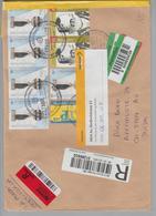 Argentinien 2008-04-17 Bahia Blanca R-Brief Nach Au ZH Mit Abholeinladung - Argentine