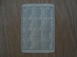 CALENDRIER MONSAVON 1957 - Calendars