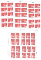 Lot De 5 Carnets Adh. De 10 TVP LP - Carnets