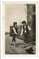 CPA - Cartes Postales Italie  Jeu : Mora-Morra-Mourre S4630 - Giochi Regionali