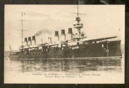 CP-Jeanne-d'Arc Croiseur Cuirassé - Vaisseau Ecole Des Aspirants - Marine De Guerre - Warships
