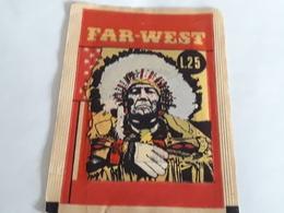 Far West Bustina Con Figurine Edizione Panda Lire 25 - Stickers
