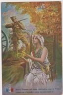26554 Guerre 1914 1918 Dessin Soldat Bataille Tommy Anglais Canon Fusil  -éd LVC U1 - War 1914-18