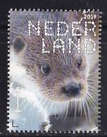 Nederland – 2 Januari 2019 – Beleef De Natuur – Zoogdieren – Europese Otter (Lutra Lutra) – MNH - Period 2013-... (Willem-Alexander)
