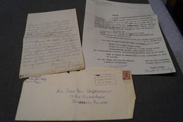 JAZZ,Harold Ousley,contrat + Courrier Originale,signature Et Manuscrit Originale,Top RARE - Foto's