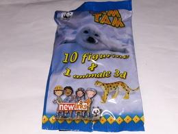 Tam Tam Wwf  Bustina Con Figurina E Animale 3d New Linka - Stickers