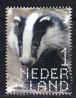 Nederland – 2 Januari 2019 – Beleef De Natuur – Zoogdieren – Das (Meles Meles) – MNH - Period 2013-... (Willem-Alexander)