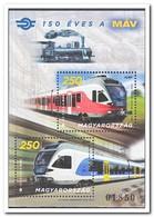 Hongarije 2018, Postfris MNH, Trains - Hongarije