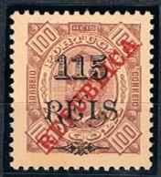 Angola, 1915, # 183 Dent. 11 1/2, MH - Angola