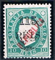 Angola, 1914, # 167 Dent. 12 1/2, MH - Angola