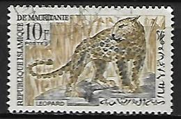 MAURITANIE    -    1963.    Y&T N° 170 Oblitéré .   Léopard - Mauritania (1960-...)