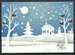 ESTLAND 2018 Politische Wahlpropaganda Political Propaganda Christmas Weihnachten Post Card - Estland