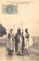 Niger - Topo / 01 - Cercle Du Djerma - Notables De Gamkalé - Belle Oblitération - Niger