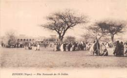Niger - Topo / 04 - Zinder - Fête Nationale Du 14 Juillet - Niger