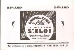 Buvard Agriculture Contre La Carie Du Blé La Poudre St Eloi - Agriculture