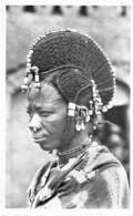 Niger - Ethnic / 06 - Coiffure De Femme Peule - Niger