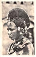 Niger - Ethnic / 10 - Coiffure De Femme Peulh - Niger