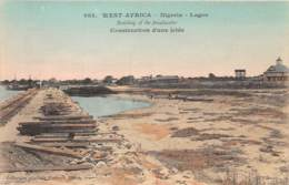 Nigeria - Topo / 23 - Construction D'une Jetée - Nigeria