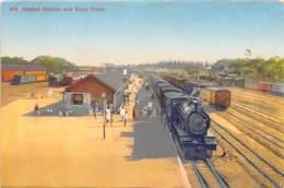 Nigeria - Topo / 29 - Ibadan Station And Kano Train - Nigeria