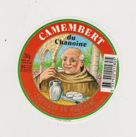étiquette De Fromage: Camembert , Moine :  Chamoine , Morbihan ,  Pont  Scorff - Cheese