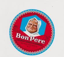 étiquette De Fromage: Camembert , Moine :  Bon Père , Paris - Cheese
