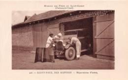 Oubangui Chari - Topo / 02 - Saint Paul Des Rapides -Citroen B14 Des Annees 1920 - Central African Republic