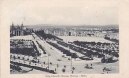 Postcard King Edward's Avenue Floriana Malta [ Borgo Vilhena ] Nr Valletta PU Port Said 1913  My Ref  B12744 - Malta