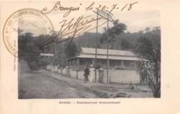 Oubangui Chari - Topo / 06 - Bangui - établissement Weissenthaner - Belle Oblitération - Centrafricaine (République)