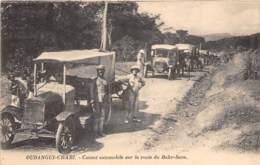 Oubangui Chari - Topo / 10 - Convoi Automobile Sur La Route Du Bahr Sara - Centraal-Afrikaanse Republiek