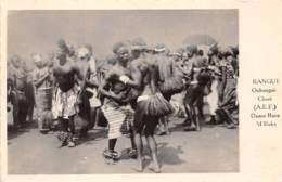 Oubangui Chari - Scenes Et Types H / 03 - Danse Race M'Baka - Centraal-Afrikaanse Republiek
