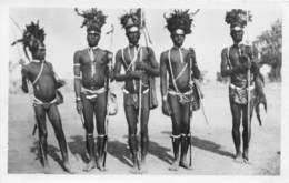 Oubangui Chari - Scenes Et Types H / 04 - Guerriers Race Ali - Centraal-Afrikaanse Republiek