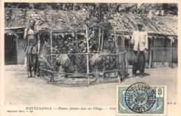 Oubangui Chari - Scenes Et Types H / 06 - Plantes Fétiches - Belle Oblitération - Centrafricaine (République)