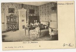 """37 - Château D' Héverlé -Salon La Présidente """" Nels Série 36 N°85 - Leuven"""