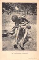 Oubangui Chari - Scenes Et Types V / 20 - Lavement D'enfant - Belle Oblitération - Centraal-Afrikaanse Republiek