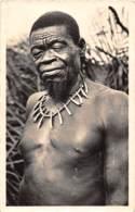 Oubangui Chari - Scenes Et Types V / 21 - Type De Féticheur - Centraal-Afrikaanse Republiek