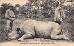 Oubangui Chari - Divers / 01 - Chasse Au Rhinocéros - Centrafricaine (République)
