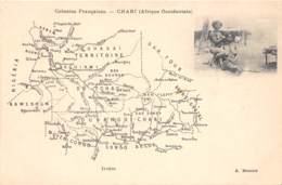 Oubangui Chari - Divers / 02 - Map - - Central African Republic