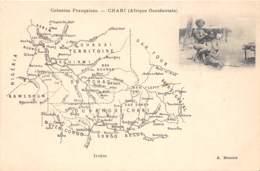 Oubangui Chari - Divers / 02 - Map - - Centrafricaine (République)
