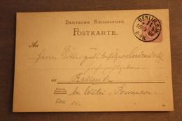 ( 1354 ) GS DR  P 18 Gelaufen  -   Erhaltung Siehe Bild - Allemagne
