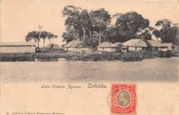 Ouganda - Topo / 05 - Entebbe - Lake Victoria Nyanza - Belle Oblitération - Uganda